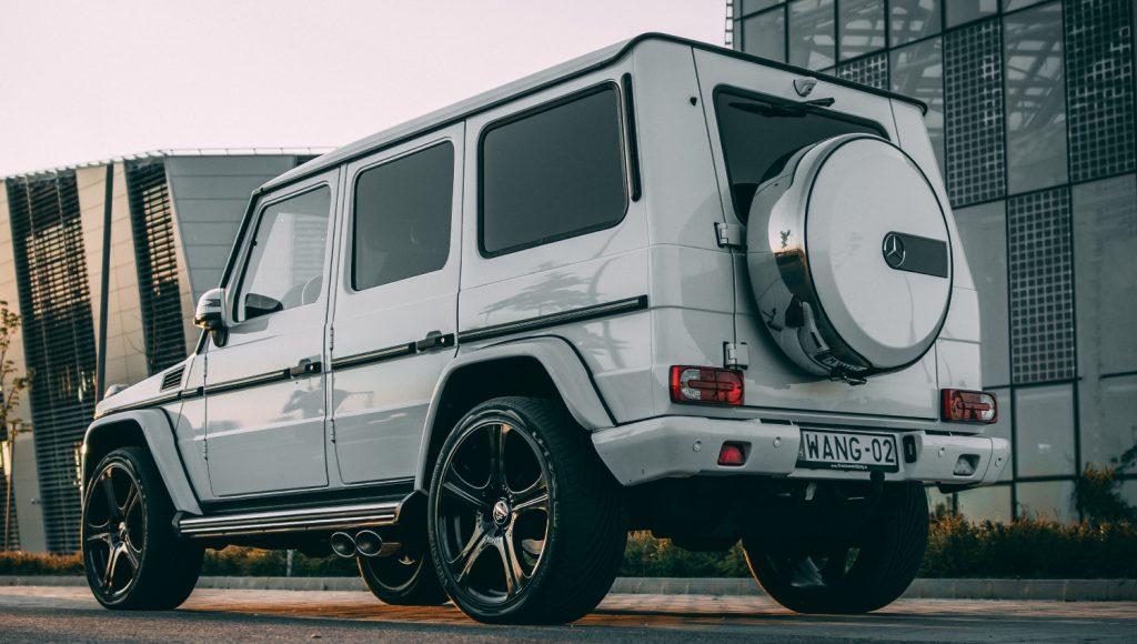 electric Mercedes g wagon