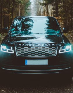 range rover electric vehicle