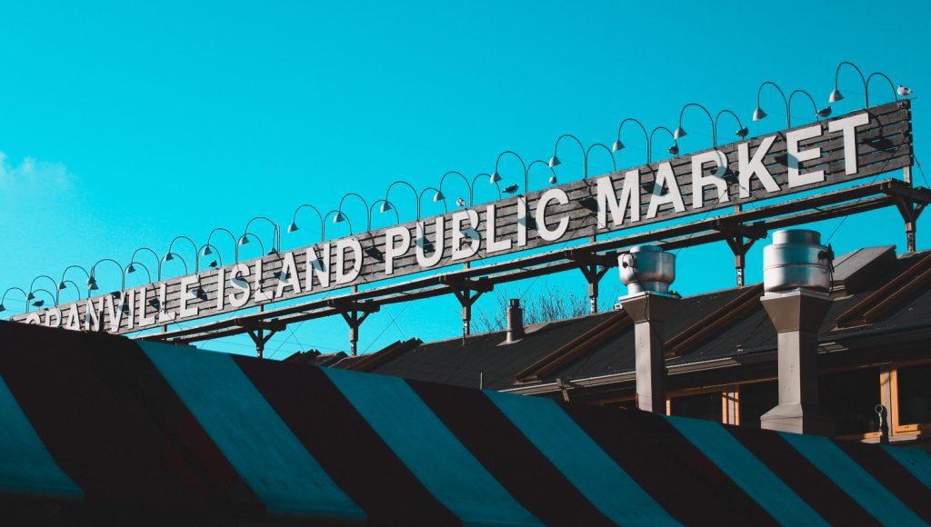 zero waste Granville Island public market