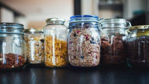 reusable zero waste mason jars