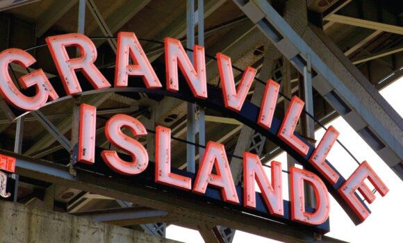 zero waste granville island sign