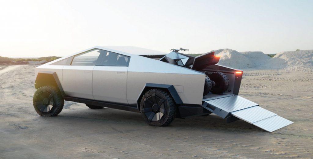 Tesla Cybertruck Offroad