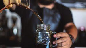 zero waste coffee brewing
