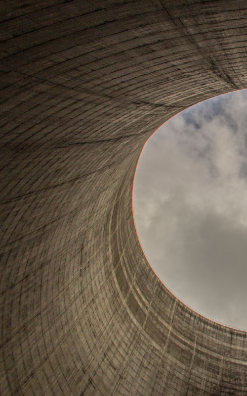nuclear energy cooling tower